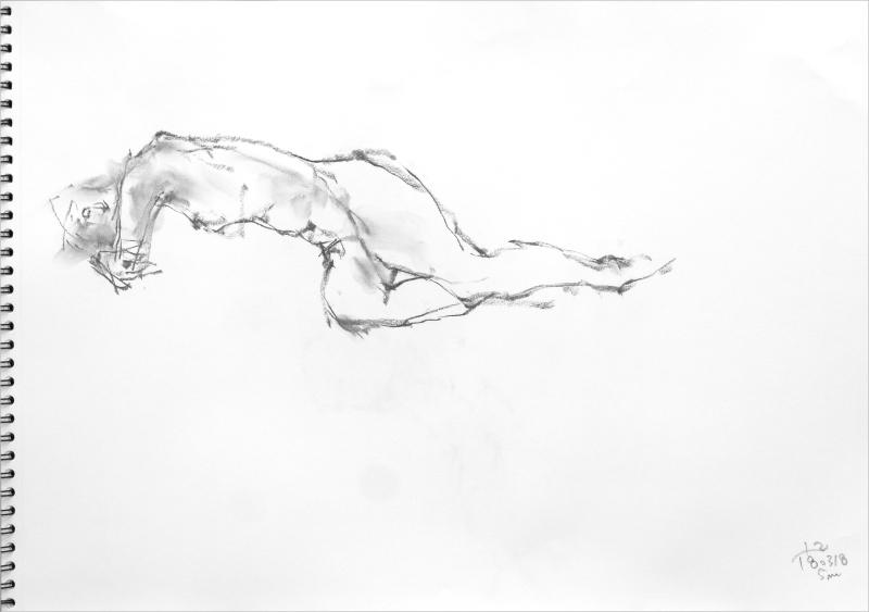 《 「三月弥生裸婦素描」5  》_f0159856_18282929.jpg