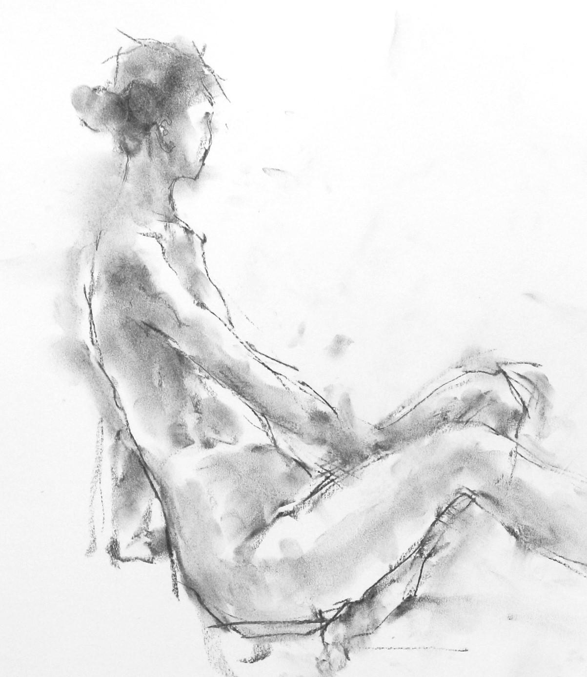 《 「三月弥生裸婦素描」 4  》_f0159856_18495654.jpg