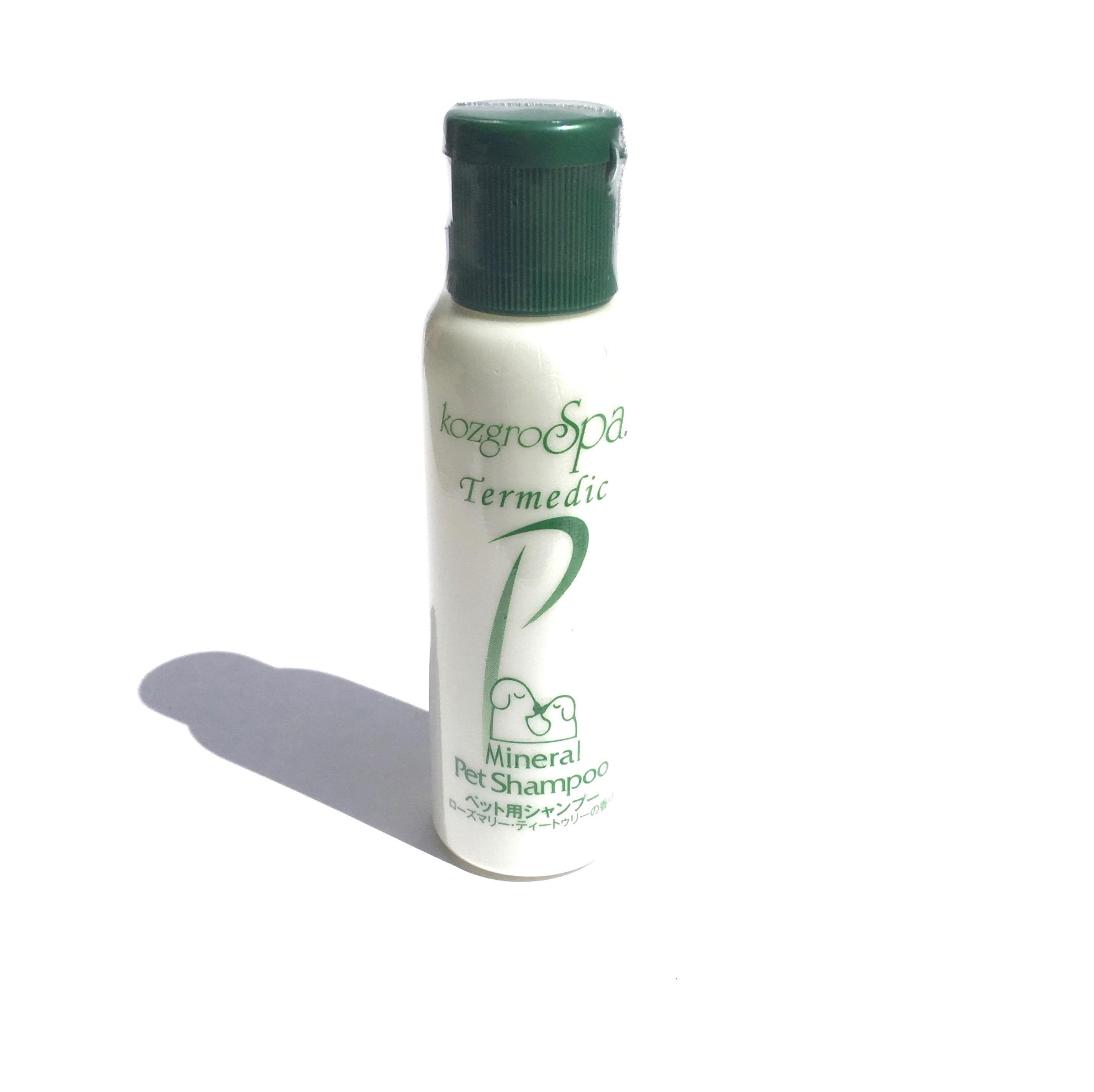 kozgro Spa Termedic Mineral Pet Shampoo  テルメディック ミネラル シャンプー ミニボトル_d0217958_11285999.jpg