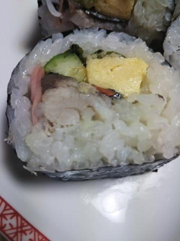 鯖の巻き寿司 with 山わさび_f0316507_20070178.jpg