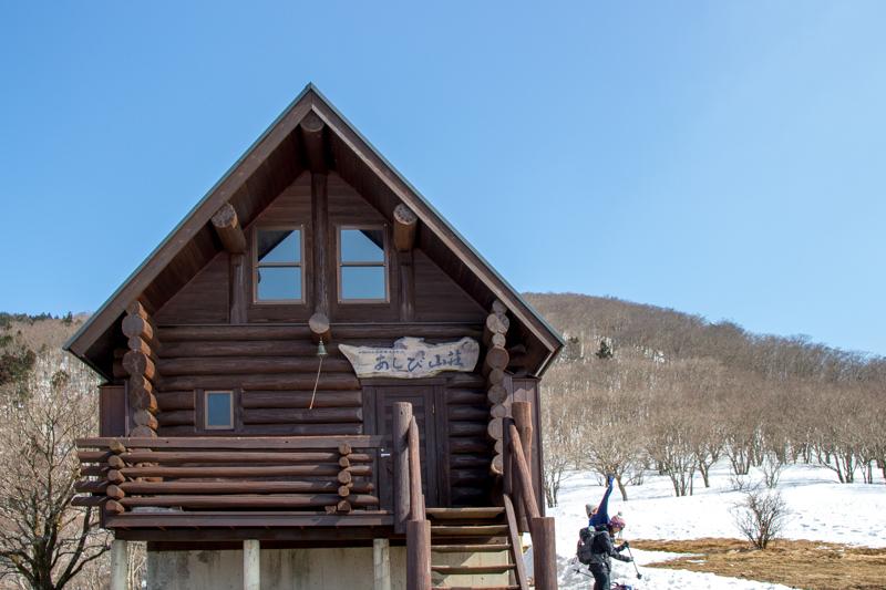 早春の台高山系 明神平・薊岳_b0244811_20514588.jpg