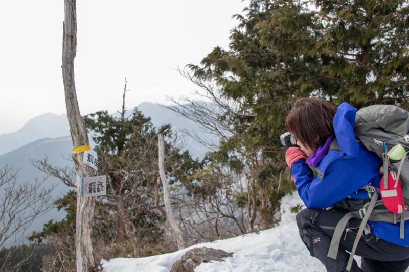 早春の台高山系 明神平・薊岳_b0244811_21401241.jpg
