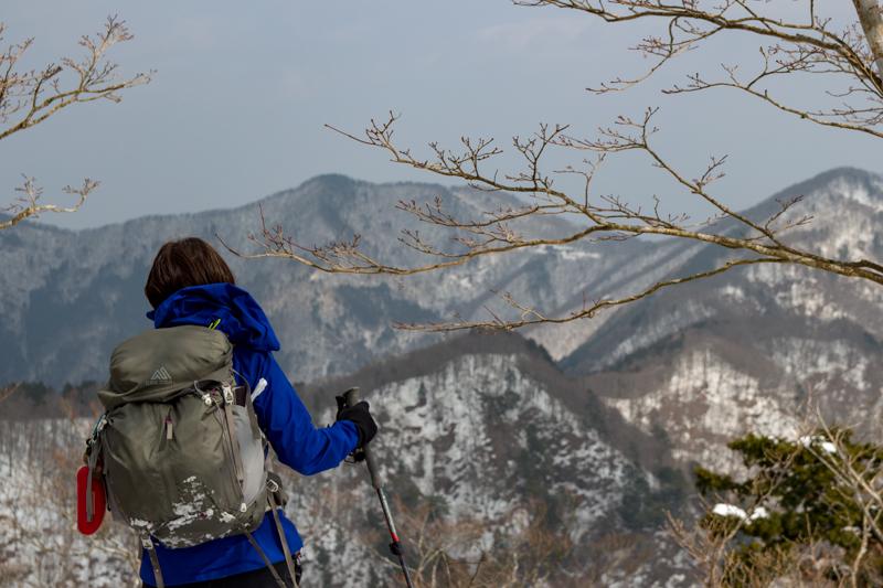 早春の台高山系 明神平・薊岳_b0244811_23251266.jpg