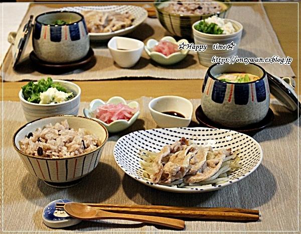 カジキフライとおむすび弁当と我が家の庭~おうちごはん♪_f0348032_18541478.jpg