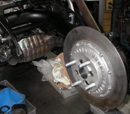 BMW R100RSモノサスのリアをディスクに換えた(未完)_e0218639_10543699.jpg