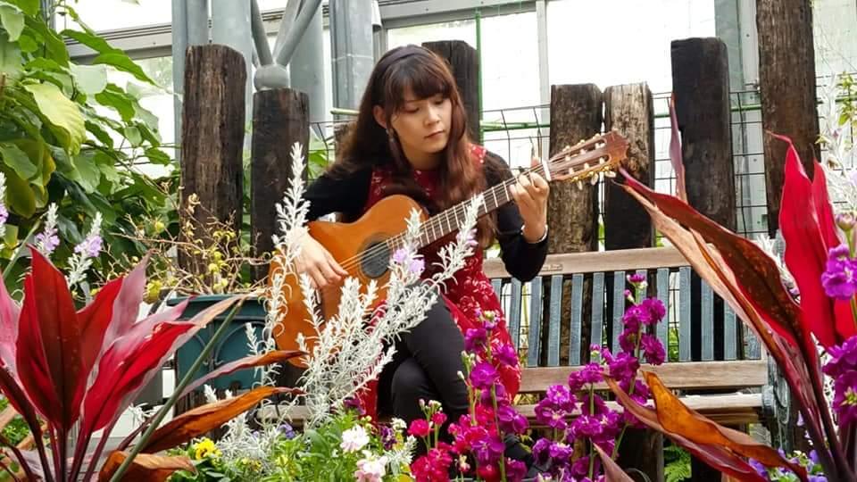 農業文化園戸田川緑地さくらまつり温室ギターコンサート2018_f0373339_14184069.jpg