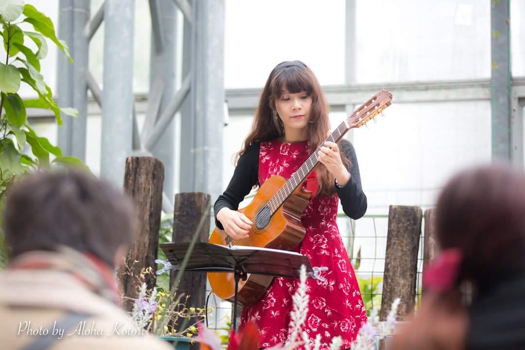 農業文化園戸田川緑地さくらまつり温室ギターコンサート2018_f0373339_14184166.jpg