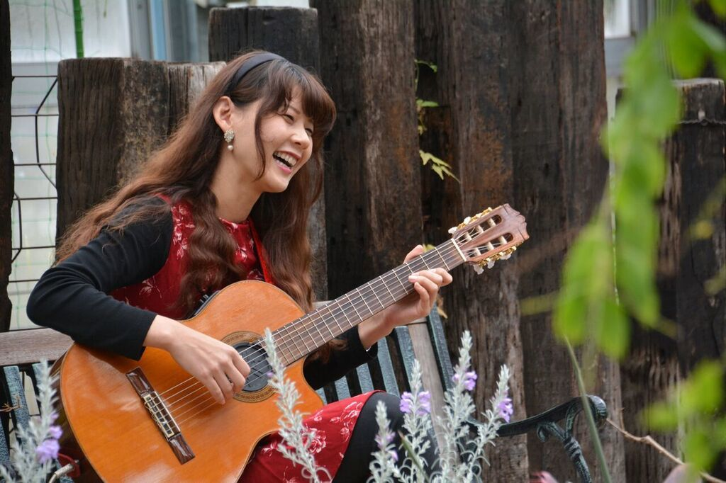 農業文化園戸田川緑地さくらまつり温室ギターコンサート2018_f0373339_14221645.jpeg
