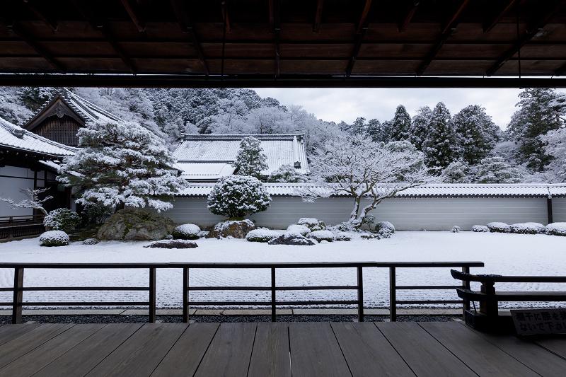 雪の京都2018 南禅寺方丈庭園_f0155048_23402146.jpg