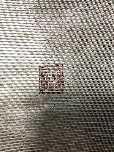 約30年前の桜の小紋と桜の螺鈿の帯・先日着た桜の着物_f0181251_19142956.jpg