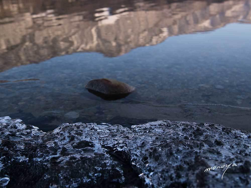水位が下がっている青木湖_c0085877_06035641.jpg