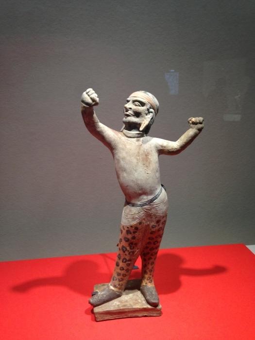 大阪 東洋陶磁美術館  胡人俑_c0100195_10314242.jpg