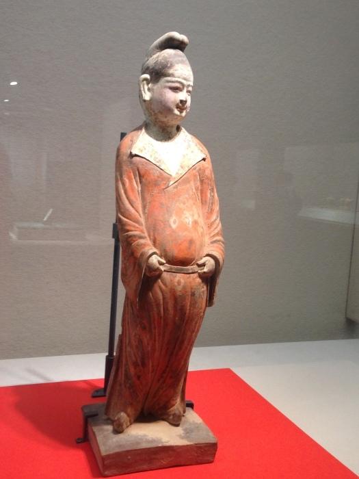 大阪 東洋陶磁美術館  胡人俑_c0100195_10341839.jpg