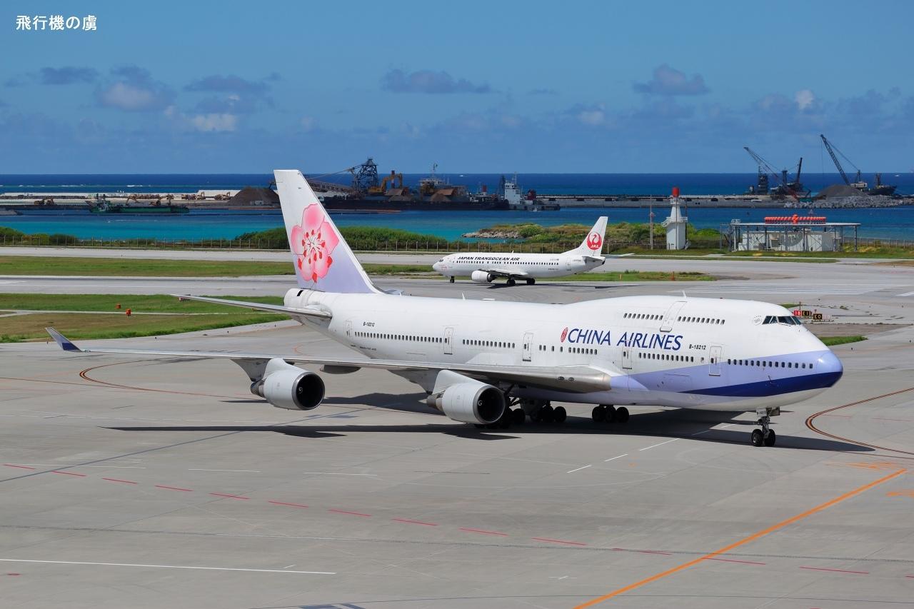 3月25日から毎日運航  B747  チャイナエアライン(CI)_b0313338_01074532.jpg
