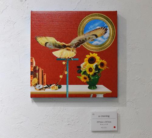 満季美香初個展「3」@ 3日目_e0272050_15235315.jpg