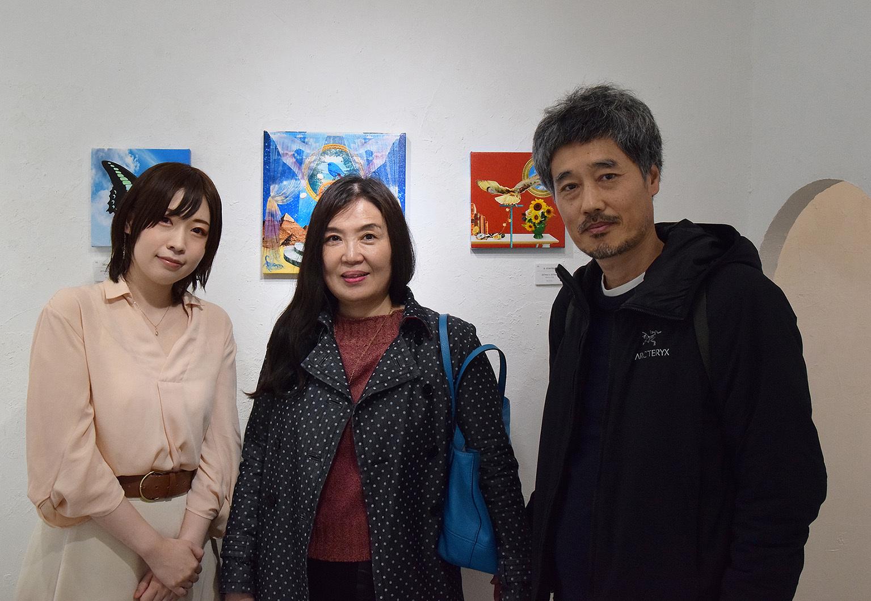満季美香初個展「3」@ 3日目_e0272050_15254801.jpg