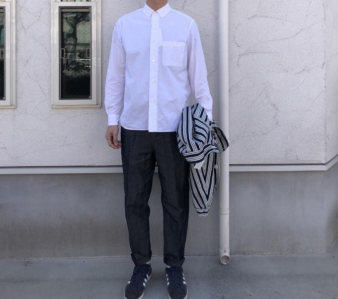 STILL BY HAND   春の白いシャツ_d0334060_17064018.jpg