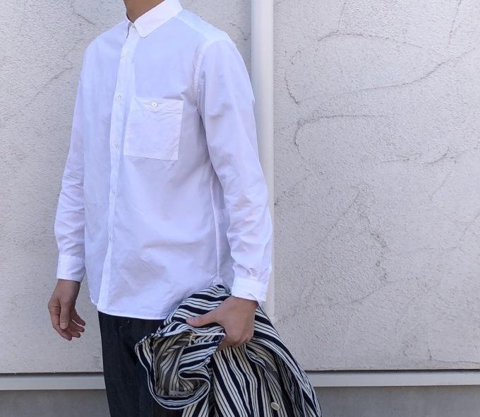 STILL BY HAND   春の白いシャツ_d0334060_17064118.jpg