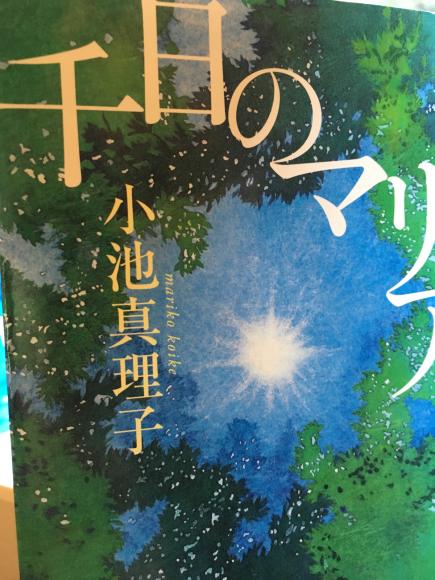 小池真理子先生「千日のマリア」_d0339676_18090832.jpg