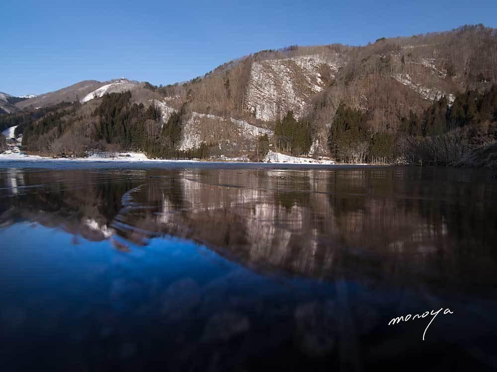 中綱湖にも春の訪れ_c0085877_06551257.jpg