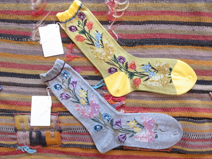 ANTIPAST BOUQUET SOCKS_f0111683_14020002.jpg