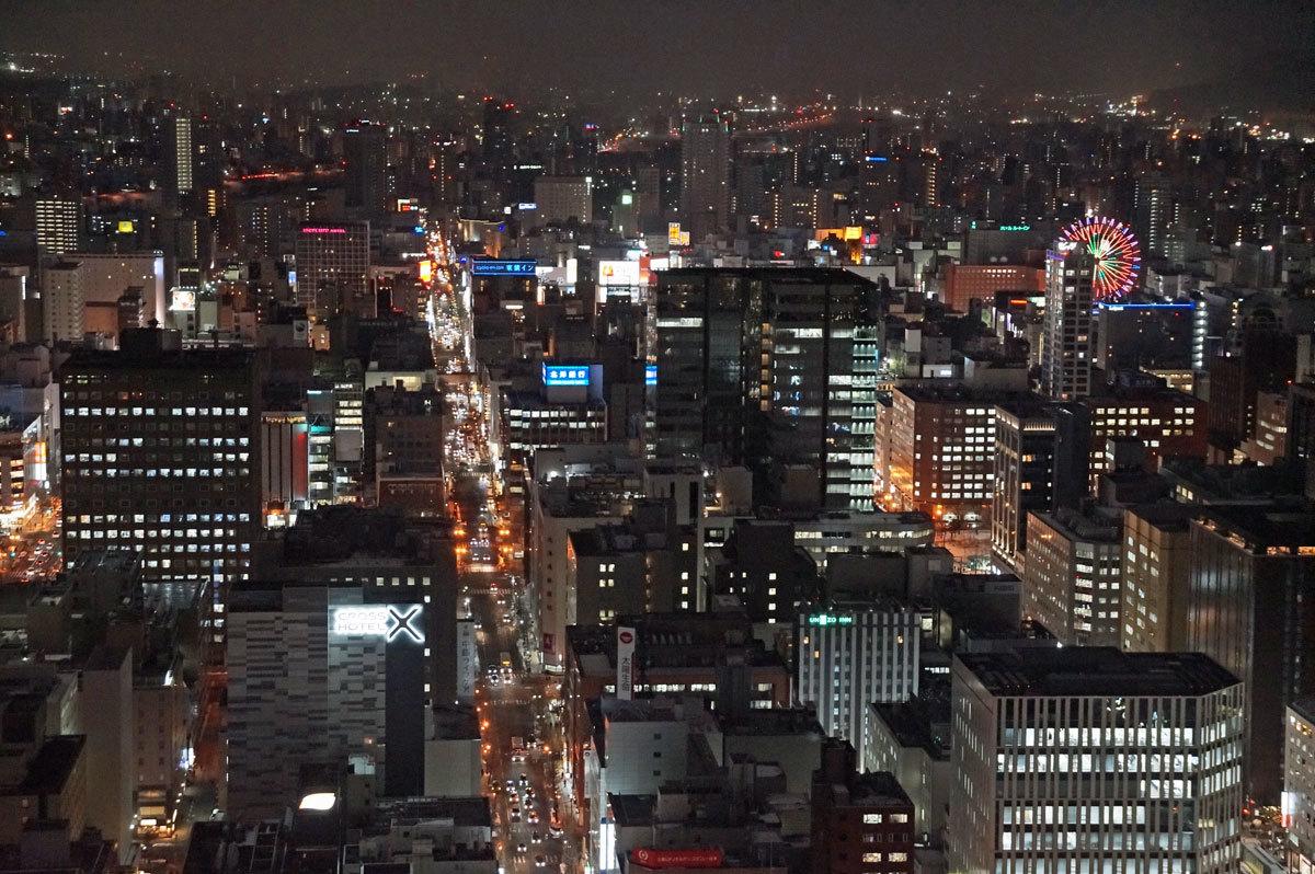 JRタワー展望台~夜景 3_d0162994_09290839.jpg