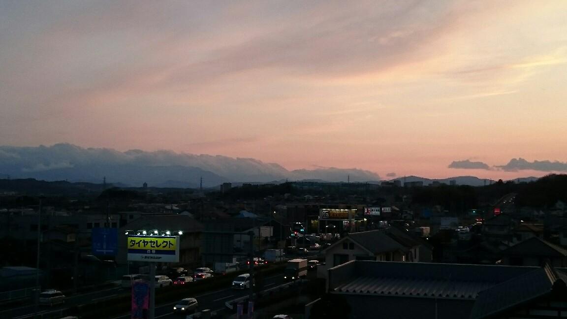 3/22,24  夕暮れ富士山_b0042308_18072882.jpg