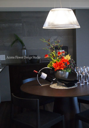 モデルルームの装花いろいろ_f0215262_23571436.jpg