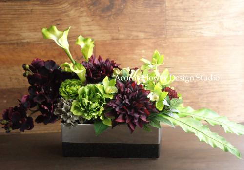 モデルルームの装花いろいろ_f0215262_23594541.jpg