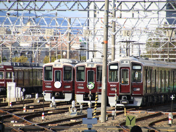 阪急1306F スヌーピー_d0202264_4402167.jpg