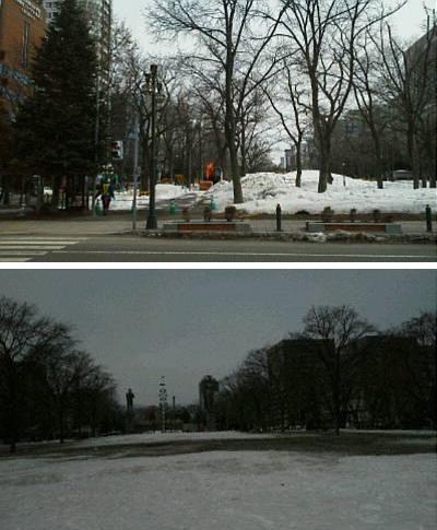 さっぽろ雪まつり・宴の後_f0078286_09373887.jpg