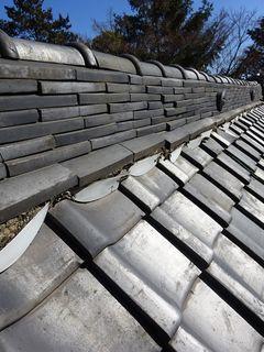 板橋区の神社で、屋根修理工事_c0223192_22061382.jpg