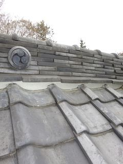 板橋区の神社で、屋根修理工事_c0223192_22062356.jpg
