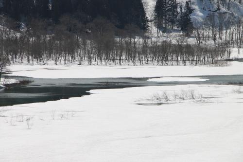 白川湖畔&飯豊山風景:春分・3, 2018.3.21_c0075701_17313290.jpg