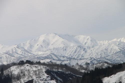 白川湖畔&飯豊山風景:春分・5, 2018.3.21_c0075701_17442716.jpg