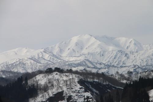 白川湖畔&飯豊山風景:春分・5, 2018.3.21_c0075701_17443222.jpg
