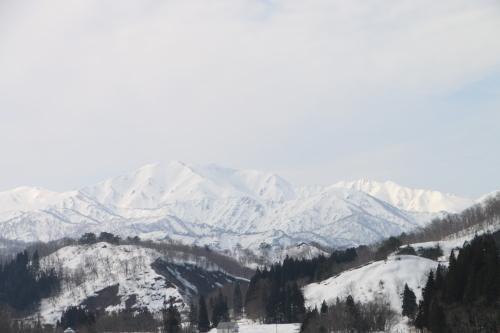 白川湖畔&飯豊山風景:春分・5, 2018.3.21_c0075701_17443794.jpg