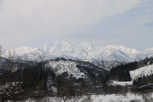 白川湖畔&飯豊山風景:春分・6, 2018.3.21_c0075701_17504976.jpg