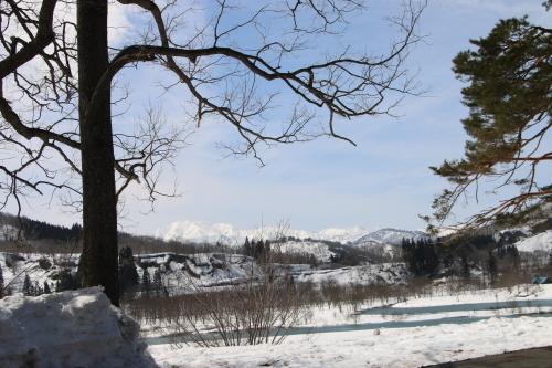 白川湖畔&飯豊山風景:春分・9, 2019.3.21_c0075701_19362218.jpg