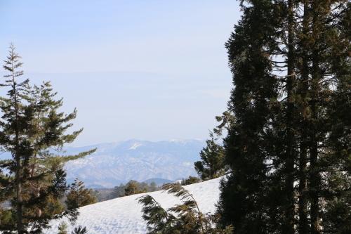 白川湖畔&飯豊山風景:春分・10, 2019.3.2_c0075701_19544157.jpg