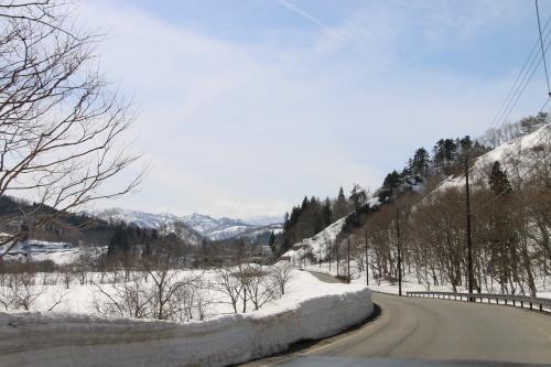 白川湖畔&飯豊山風景:春分・10, 2019.3.2_c0075701_19550061.jpg