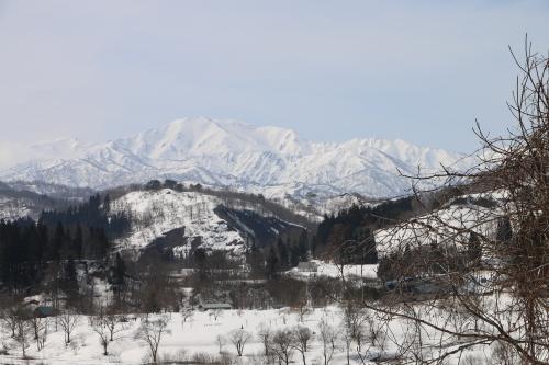 白川湖畔&飯豊山風景:春分・10, 2019.3.2_c0075701_19560171.jpg