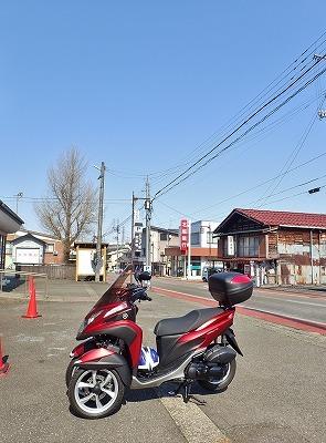 シーズン初めてのバイク通勤してみました_c0336902_17540476.jpg