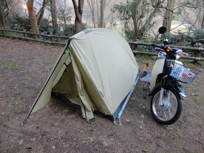 寒さも緩んだバイクでキャンプ_f0061705_14421346.jpg