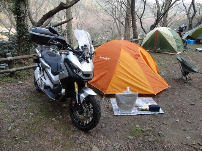 寒さも緩んだバイクでキャンプ_f0061705_14422971.jpg