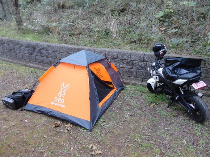 寒さも緩んだバイクでキャンプ_f0061705_14424255.jpg