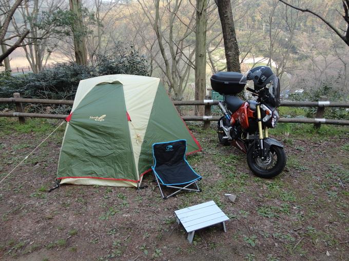 寒さも緩んだバイクでキャンプ_f0061705_14432291.jpg
