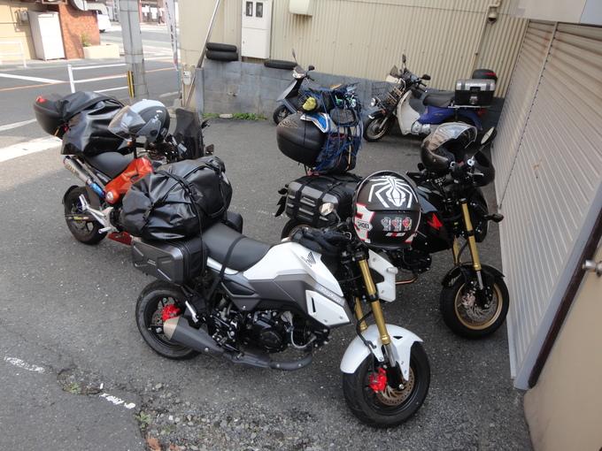 寒さも緩んだバイクでキャンプ_f0061705_19362460.jpg