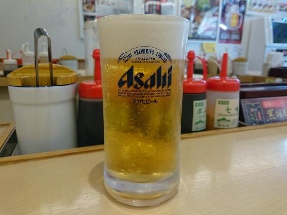 3/24夜勤明け 厚切りポークステーキライス大盛り無料¥690 & 生ビール2杯¥360 @松屋_b0042308_16192970.jpg