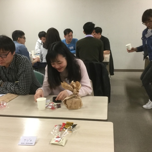 日曜朝教室の期末茶話会_e0175020_20122663.jpg